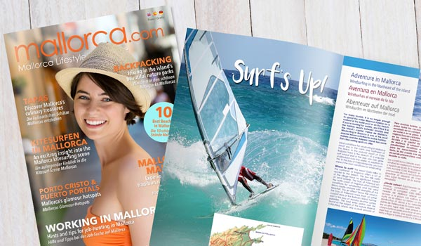 Browse through interesting reports, trends and holiday tips in our free Mallorca Magazine.