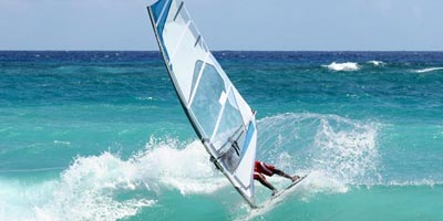 Windsurfing and sailing in Majorca